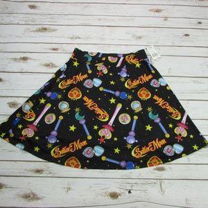 Sailor Moon Skater Skirt Heart Wand Size Large
